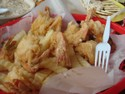 DD fried shrimp
